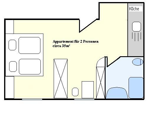 Appartment Suite 16 Die Appartments Haus Battisti